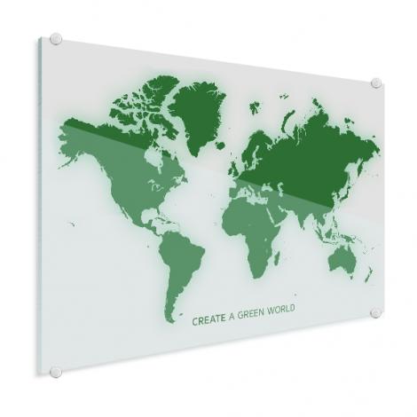Groen plexiglas