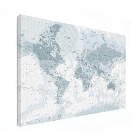 Realistisch - grijstinten canvas