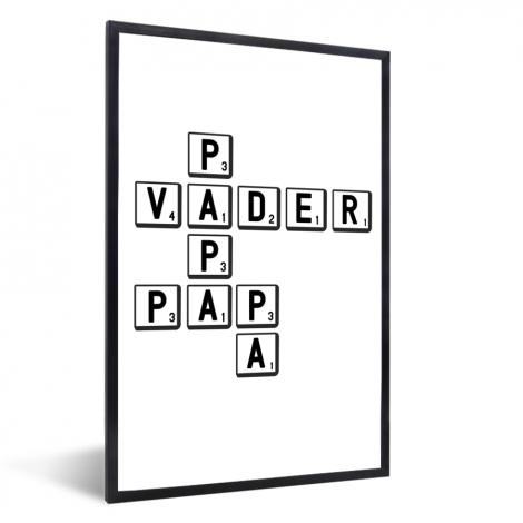 Vaderdag - Papa vader pap pa Fotolijst