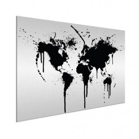 Zwarte inkt aluminium