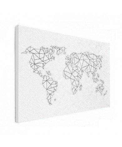 Geometrisch - lijn canvas