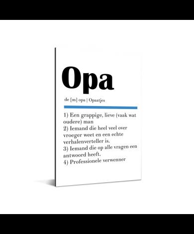 Vaderdag - Definitie Opa Aluminium