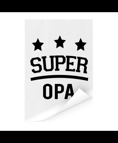 Vaderdag - Super opa Poster
