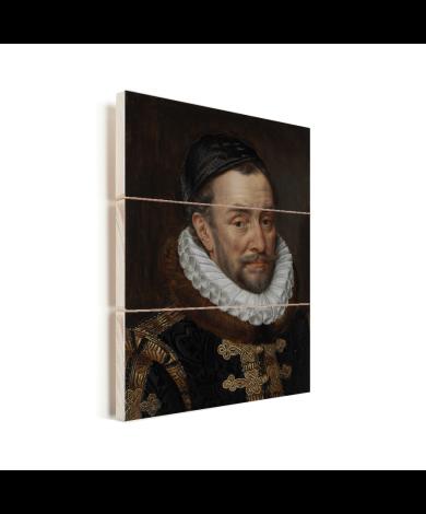 Willem van Oranje - Schilderij van Adriaen Thomasz Vurenhout met planken
