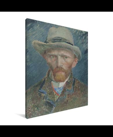 Zelfportret 1887 - Schilderij van Vincent van Gogh Canvas