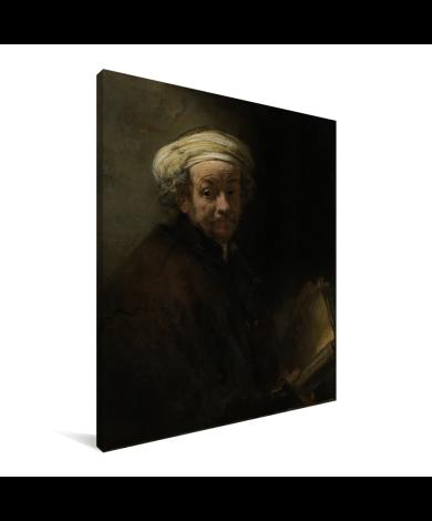 Zelfportret als de apostel Paulus - Schilderij van Rembrandt van Rijn Canvas