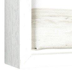 witte baklijst om je canvas