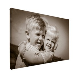 Foto op canvas fotobewerking sepia