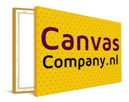 Bedrijfslogo op canvas afdrukken
