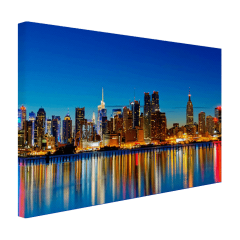 Skyline New York op canvas