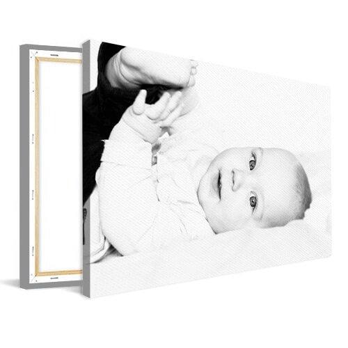 Foto op canvas met baby