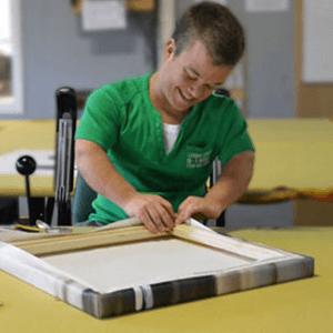 Canvasdoeken maken