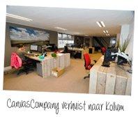 Canvascompany verhuist naar Kollum