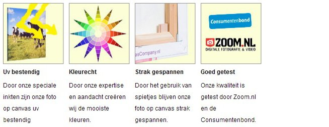 Canvas UV-bestendig